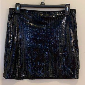 Body Central Sequin Mini Skirt